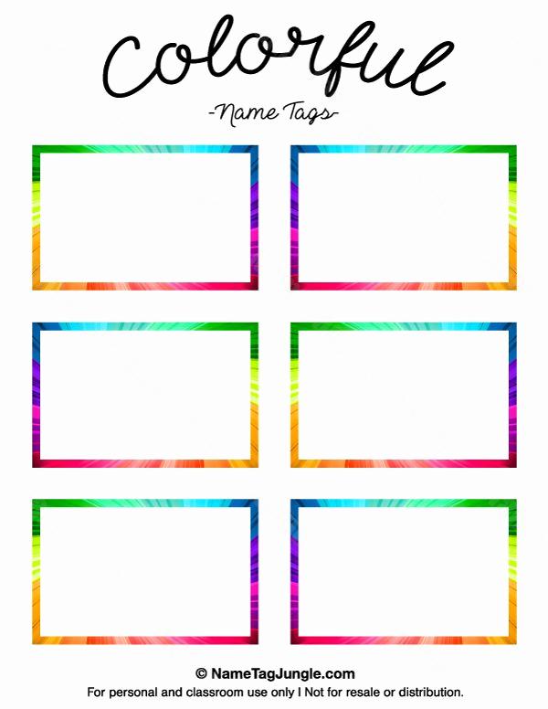 30 Name Tag Template Free Printable Tate Publishing News