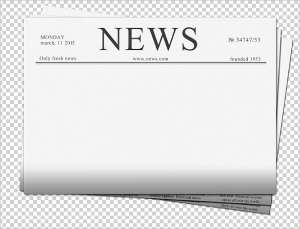 Newspaper Front Page Template Fresh Blank Newspaper Template – 20 Free Word Pdf Indesign