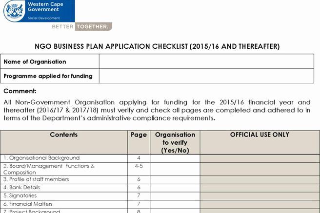 Non Profit Business Plan Inspirational 20 Non Profit Business Plan Template Free Download