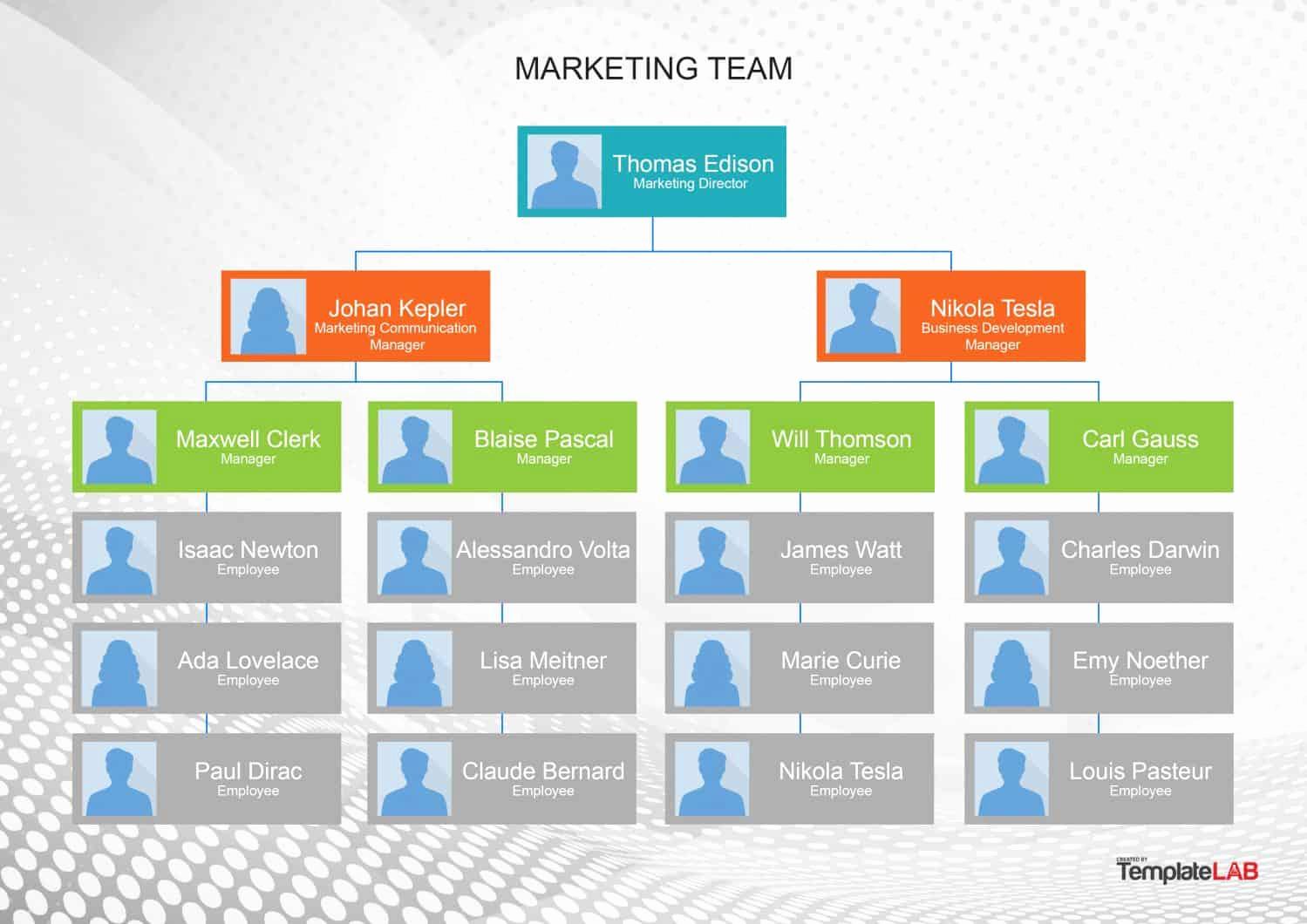 Organizational Chart Template Word Inspirational 40 organizational Chart Templates Word Excel Powerpoint