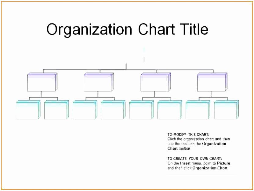 Organizational Chart Template Word Unique 6 Editable organizational Chart Template Ppfop