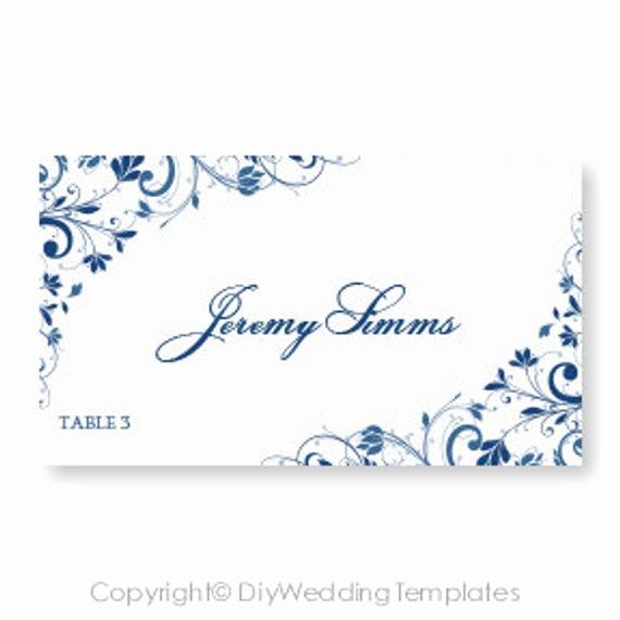 Place Card Template Word Beautiful Wedding Place Card Template Download by Diyweddingtemplates