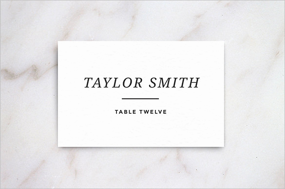 Place Card Template Word Lovely Name Card Templates 17 Free Printable Word Pdf Psd