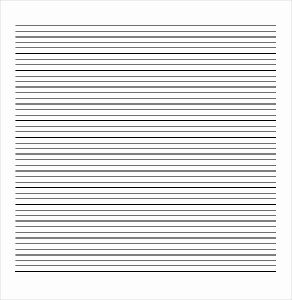 Printable Lined Paper Pdf Elegant Sample College Ruled Paper Template 9 Free Documents In