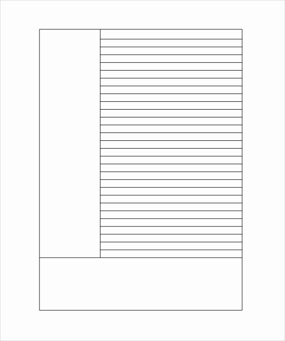 Printable Lined Paper Pdf Fresh 12 Lined Paper Templates Pdf Doc