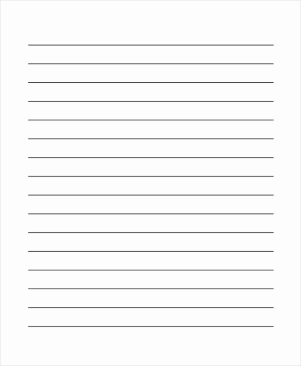 Printable Lined Paper Pdf Luxury First Grade Lined Paper Printable Zoro Blaszczak