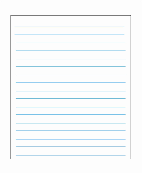 Printable Lined Paper Pdf New Wide Lined Paper to Print Printable Lined Paper Wide Ruled
