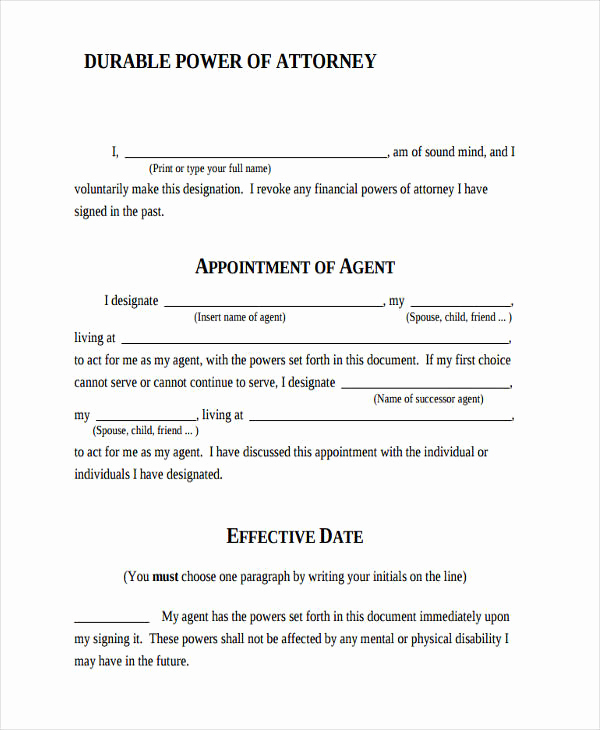 image regarding Printable Power of Attorney Form identify Printable Electricity Of legal professional Refreshing 24 Printable Electricity Of
