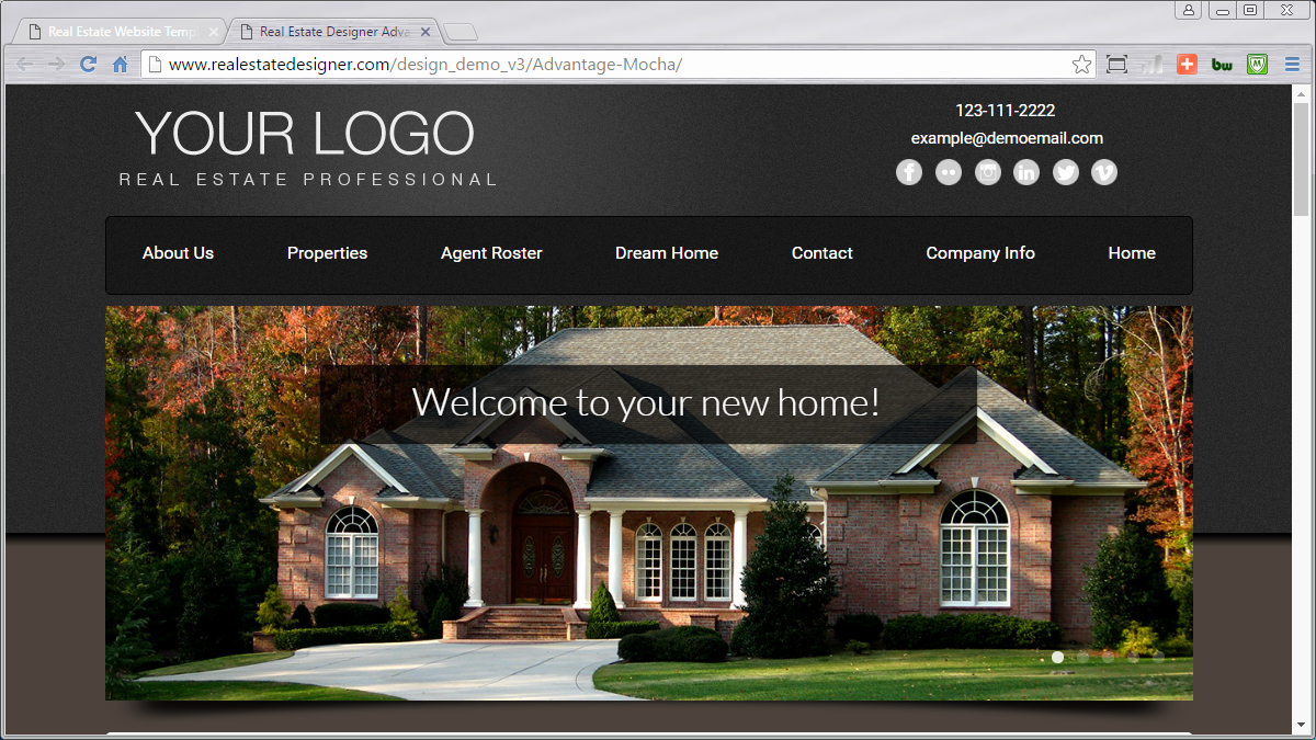Real Estate Website Templates Awesome 48 Mobile Friendly Real Estate Website Templates Available