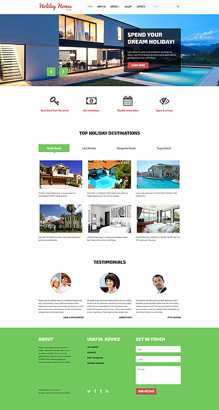 Real Estate Website Templates Awesome Real Estate Website Template