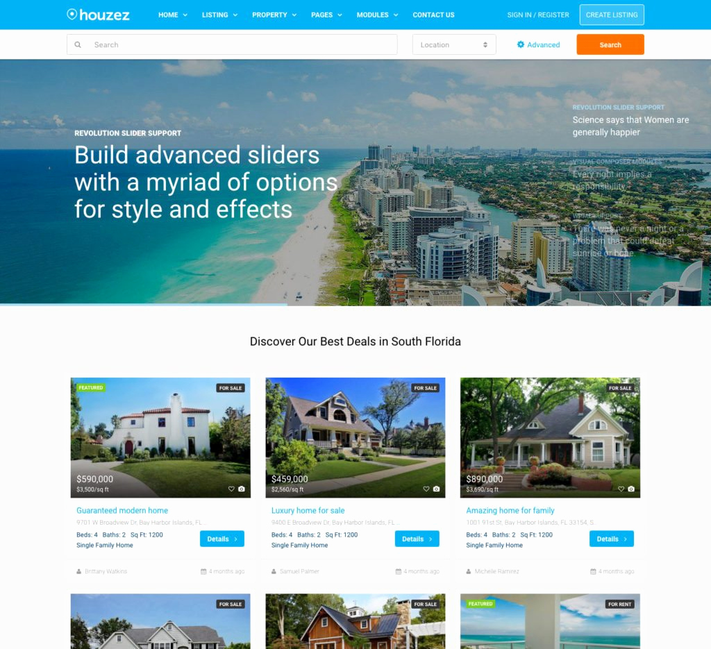 Real Estate Website Templates Awesome Real Estate Website Templates 25 Examples & How to Choose