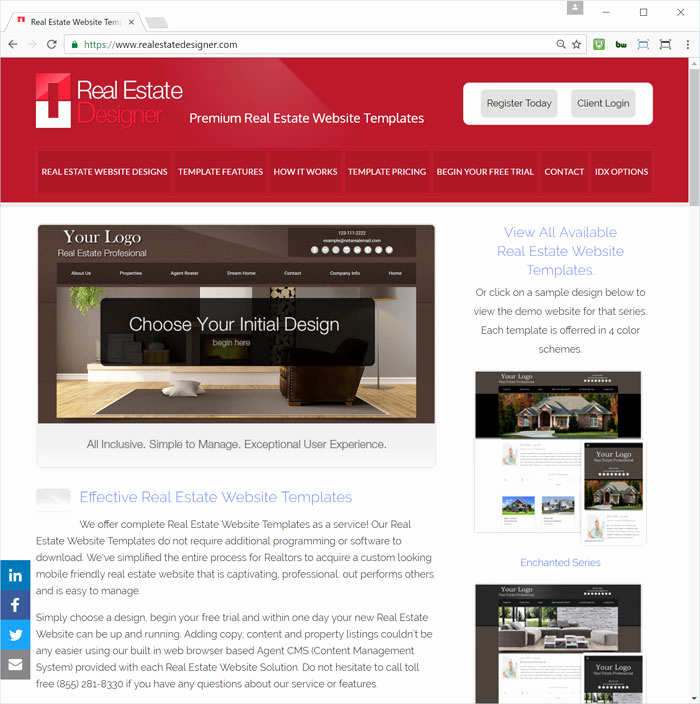 Real Estate Website Templates Awesome Real Estate Website Templates