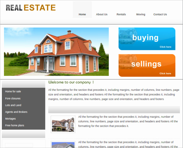 Real Estate Website Templates Beautiful 23 Realtor Website themes & Templates