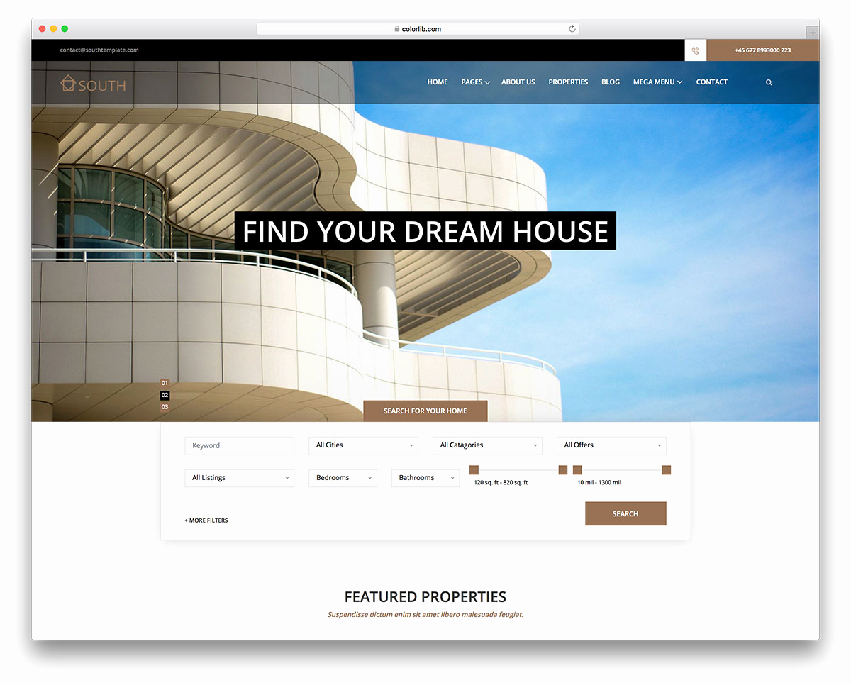 Real Estate Website Templates Lovely 14 Best Free Real Estate Website Templates 2019 Colorlib
