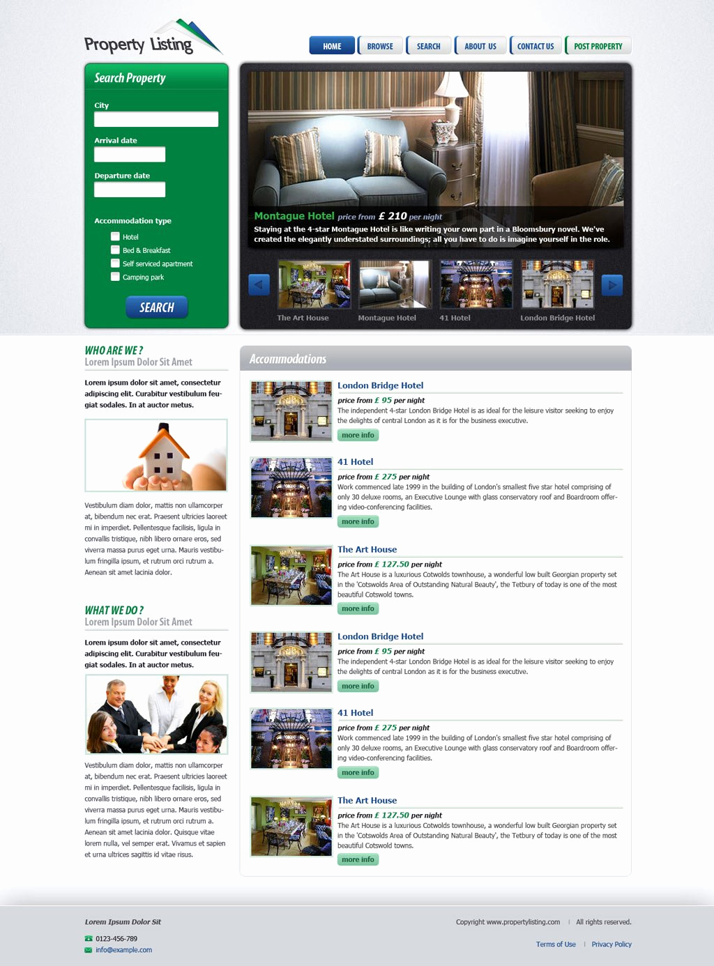 Real Estate Website Templates New Real Estate Website Template