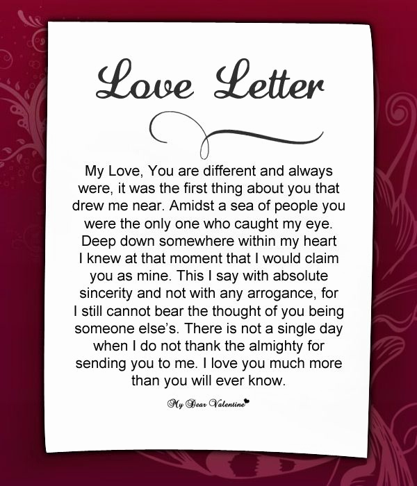 Romantic Love Letters for Her Awesome Love Letters for Her 7 Love Letters for Her