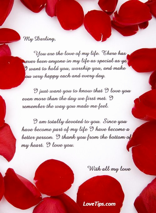 Romantic Love Letters for Her Elegant 20 Romantic Love Letters for Her