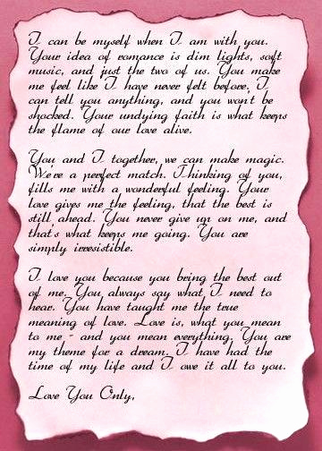 Romantic Love Letters for Her New 15 Letter to My Husband On His Birthday