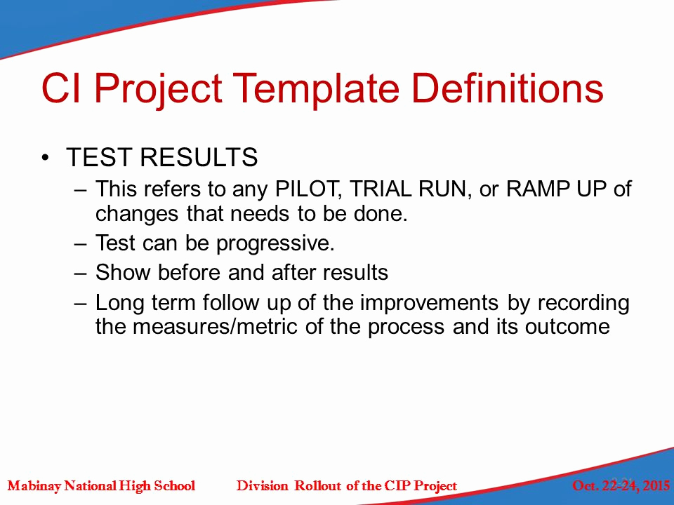 Run Of Show Template Lovely Stage 1 assess Mabinay National High School Division