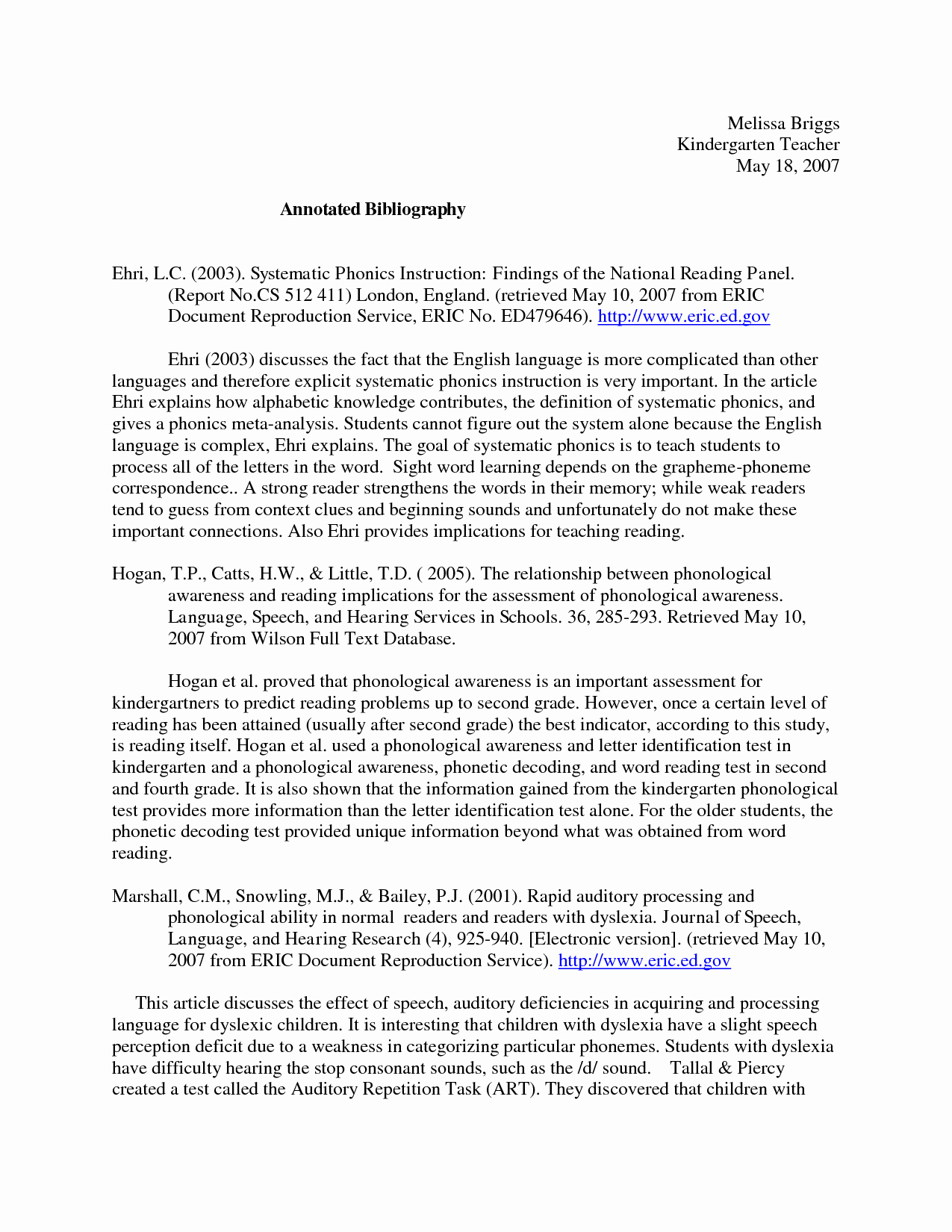 Sample Apa Annotated Bibliography Beautiful Apa Style Research Paper Template