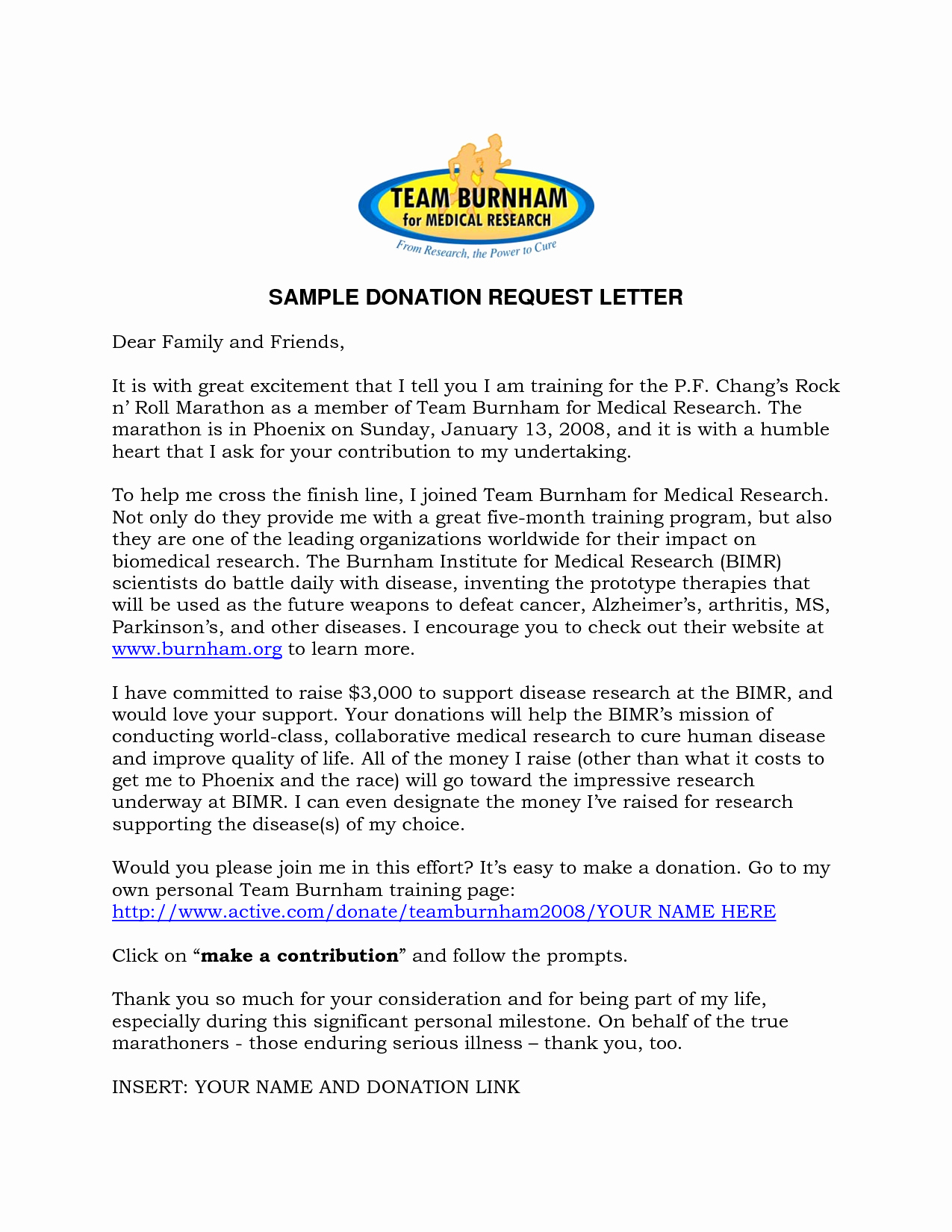 30 Sample Letters asking for Donations | Tate Publishing News