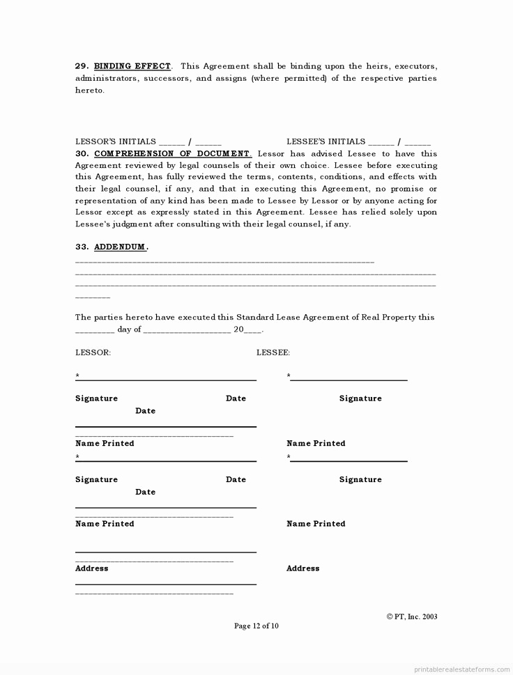 Simple Real Estate Contract Elegant Simple Land Purchase Agreement form
