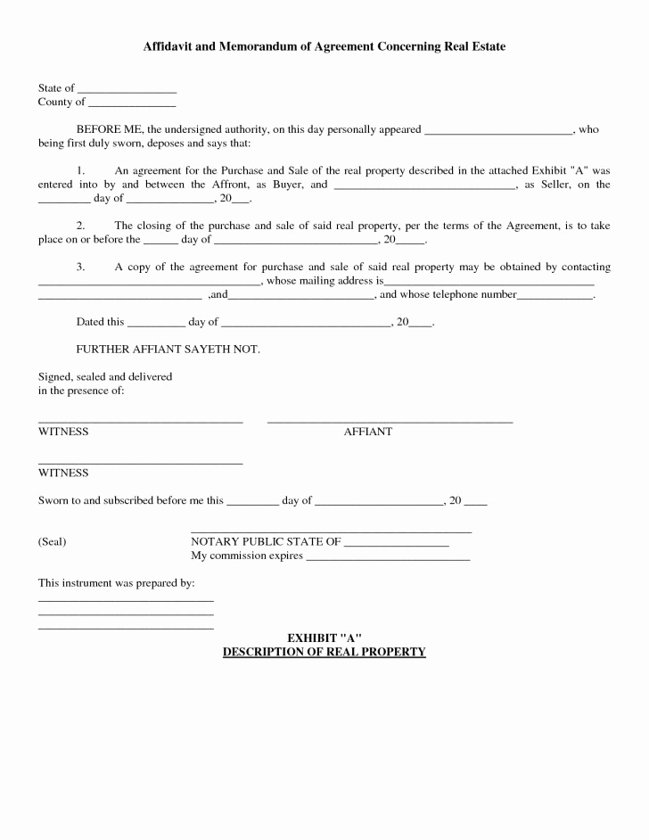 Simple Real Estate Contract Elegant Simple Real Estate Purchase Agreement