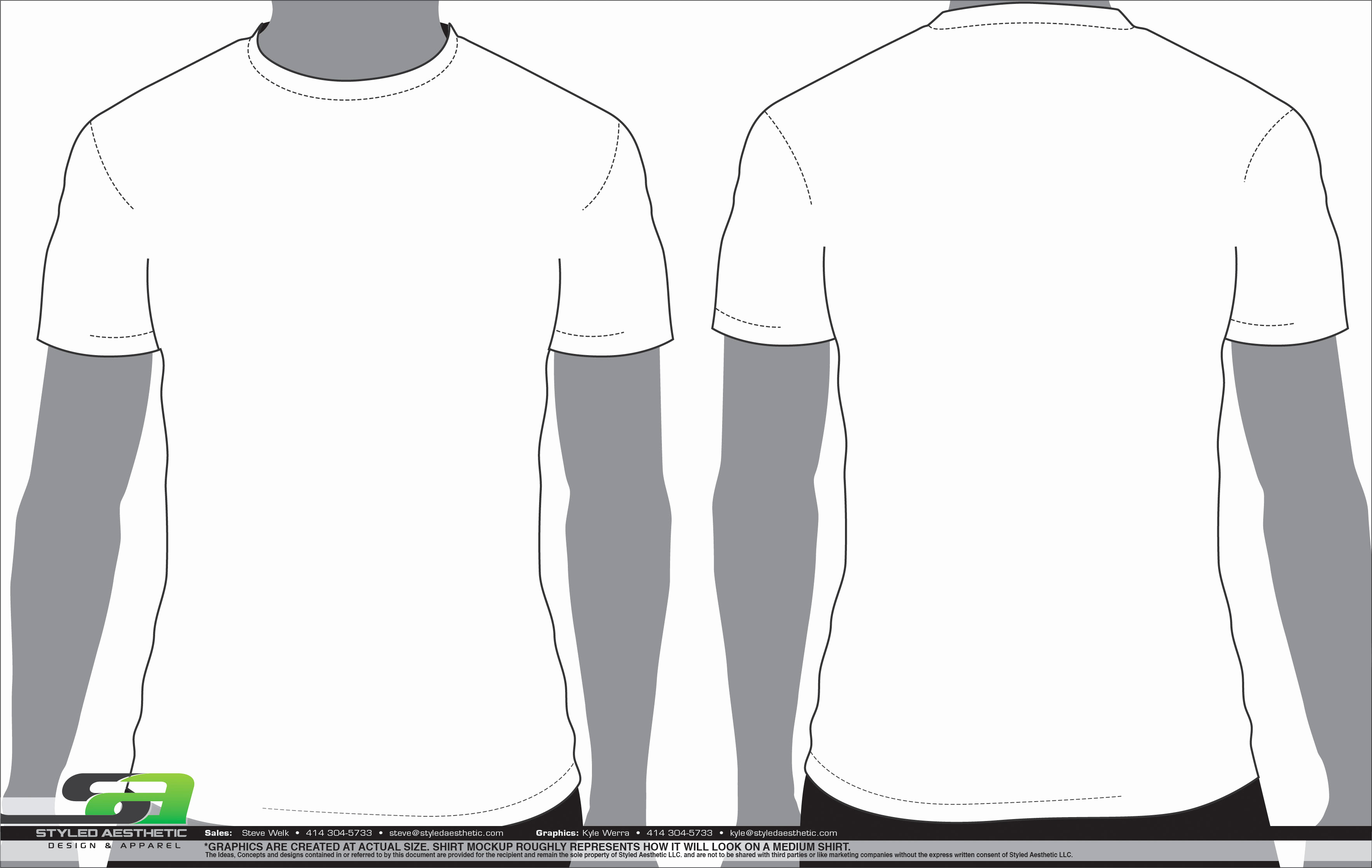 T Shirt Template Illustrator Awesome Templates Styled Aesthetic