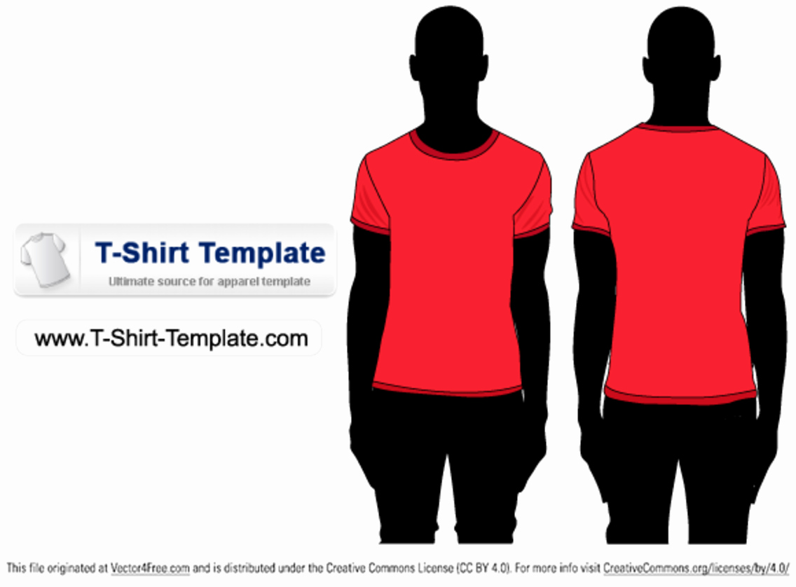 T Shirt Template Illustrator Elegant Free Short Sleeve T Shirt Template Illustrator