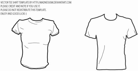 T Shirt Template Illustrator Elegant Vector T Shirt Template Free Vector In Adobe Illustrator