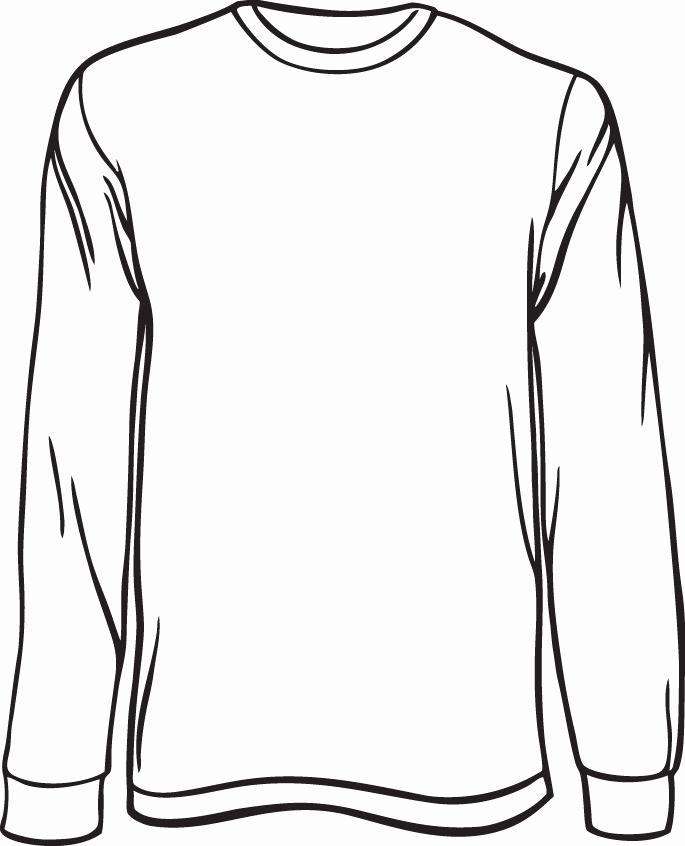 T Shirt Template Illustrator Fresh Blank Long Sleeve Shirt Template Invitation Template