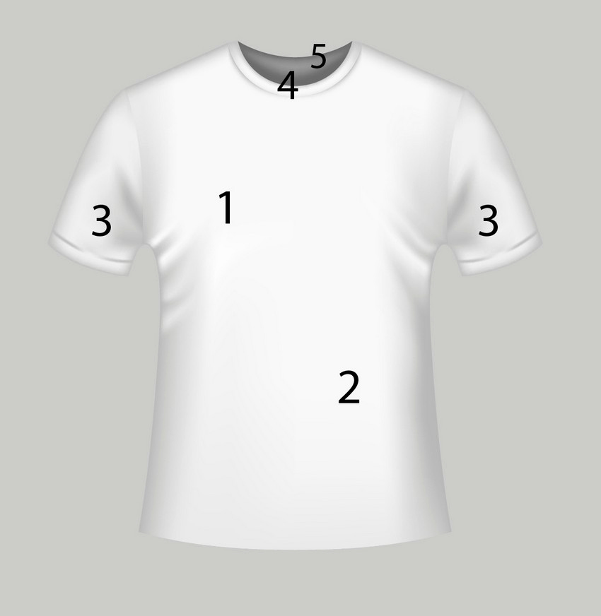 T Shirt Template Illustrator Unique How to Create A Vector T Shirt Mockup Template In Adobe