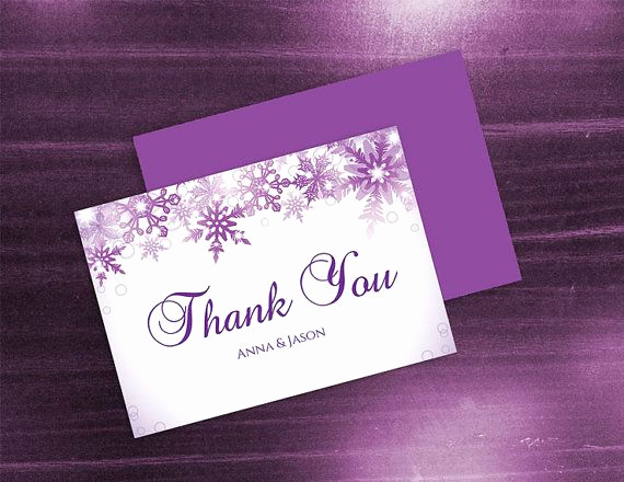 Wedding Thank You Card Template Elegant Diy Printable Wedding Thank You Card Template