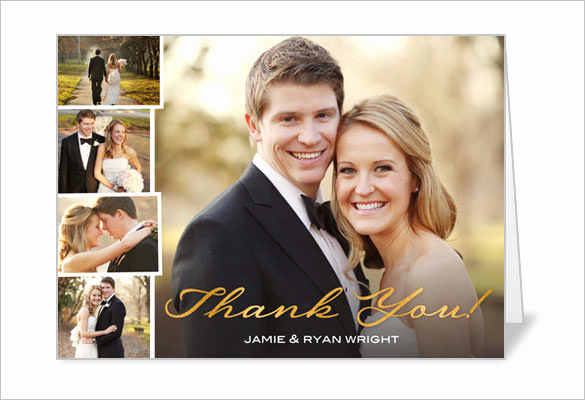 Wedding Thank You Card Template Fresh 18 Wedding Thank You Cards Psd Ai Vector Eps