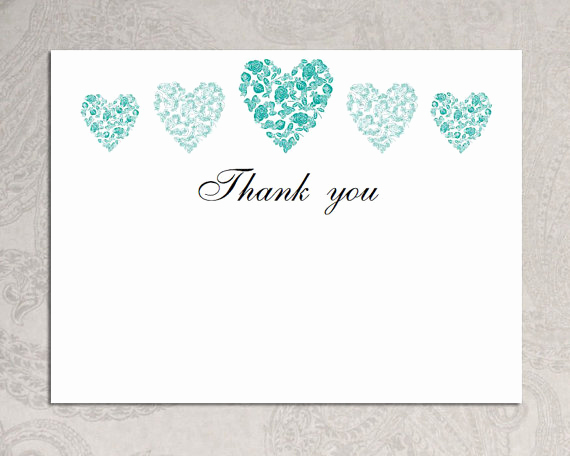 Wedding Thank You Card Template Unique 15 Thank You Template