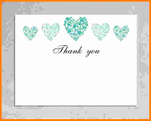 Wedding Thank You Card Template Unique 7 Thank You Cards Template
