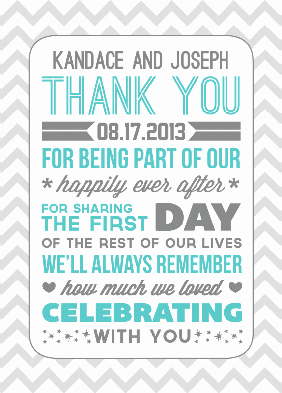 Wedding Thank You Note Template Lovely Thank Yous