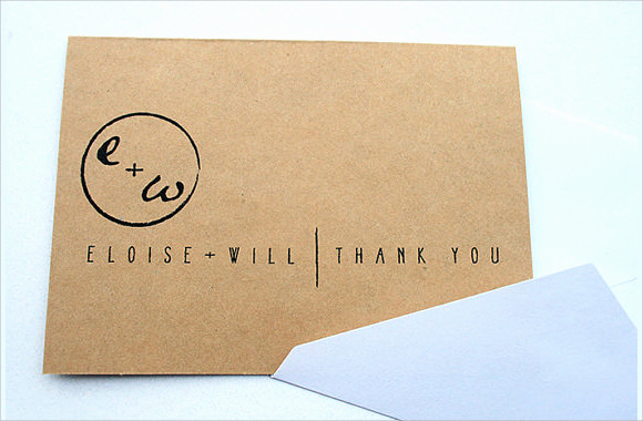 Wedding Thank You Note Template Luxury 11 Sample Wedding Thank You Notes