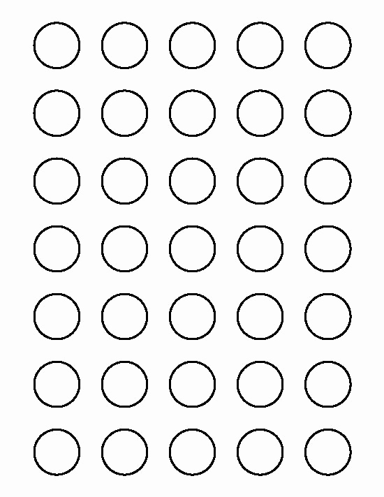 1 Inch Circle Template Best Of 25 Of Circle Eyes Template