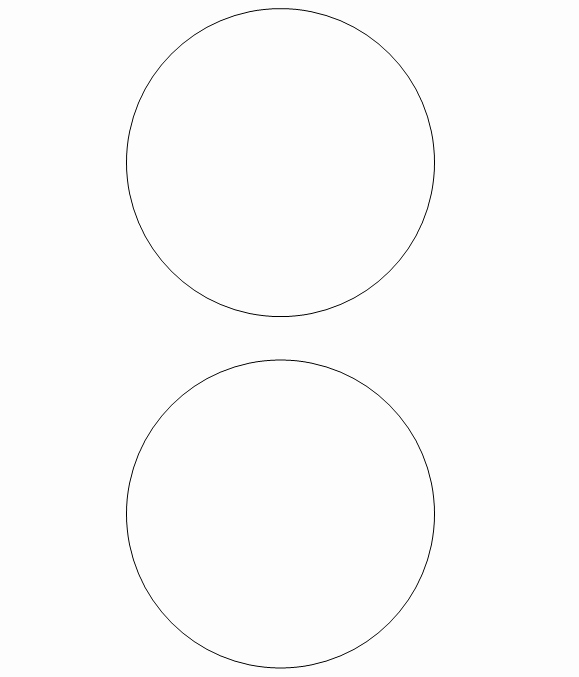 1 Inch Circle Template Inspirational Free Printable Circle Templates and Small Stencils