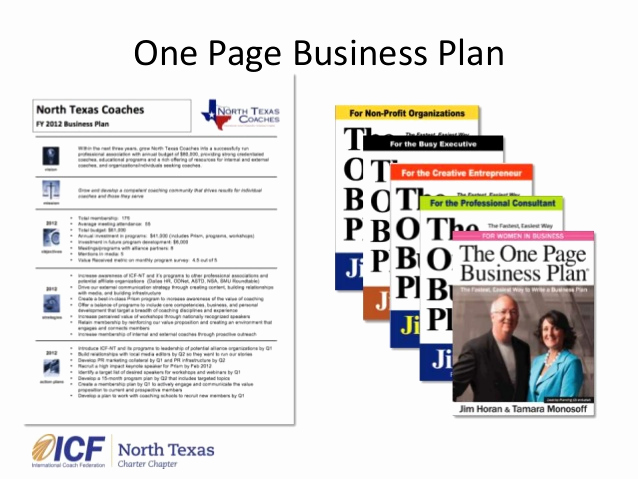1 Page Business Plan Inspirational E Page Business Plan Lunch Presentation