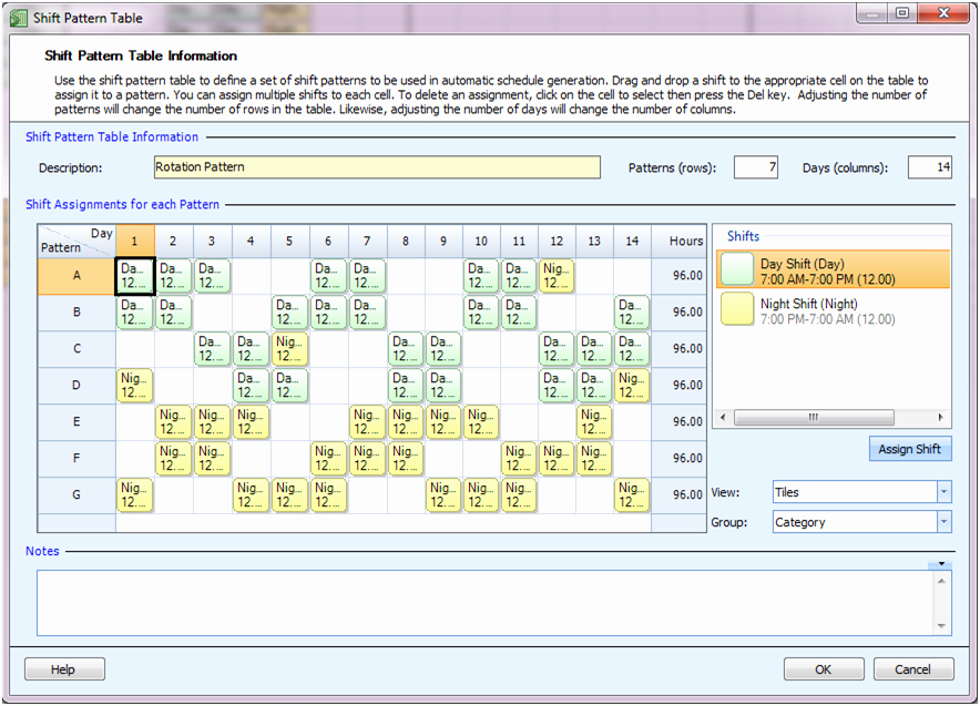 12 Hour Shift Schedule Best Of Employee Scheduling Example 24 7 12 Hr Shifts Staff