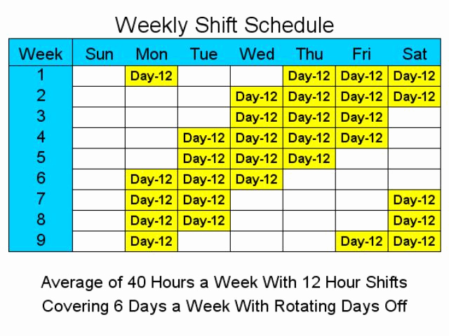 12 Hour Shift Schedule Elegant 12 Hour Shift Quotes Quotesgram