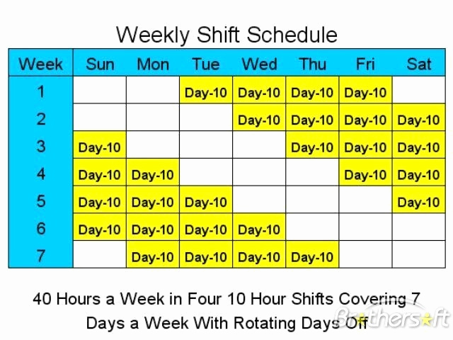 12 Hour Shift Schedule Lovely 12 Hour Rotating Shift Schedule – Emmamcintyrephotography