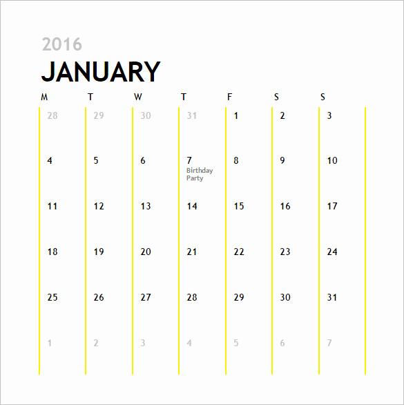 12 Month Calendar Template Best Of Calendar Template 41 Free Printable Word Excel Pdf