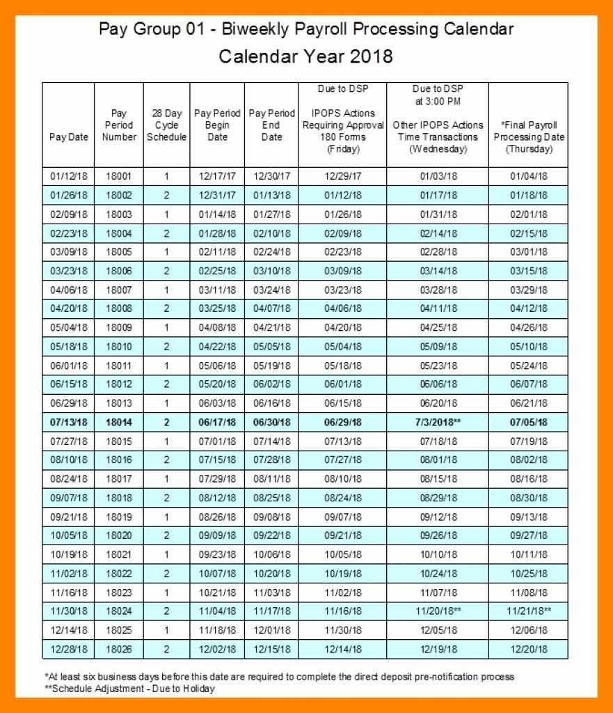 2019 Biweekly Payroll Calendar Template Lovely Calendrier 2019 Mois Par Mois