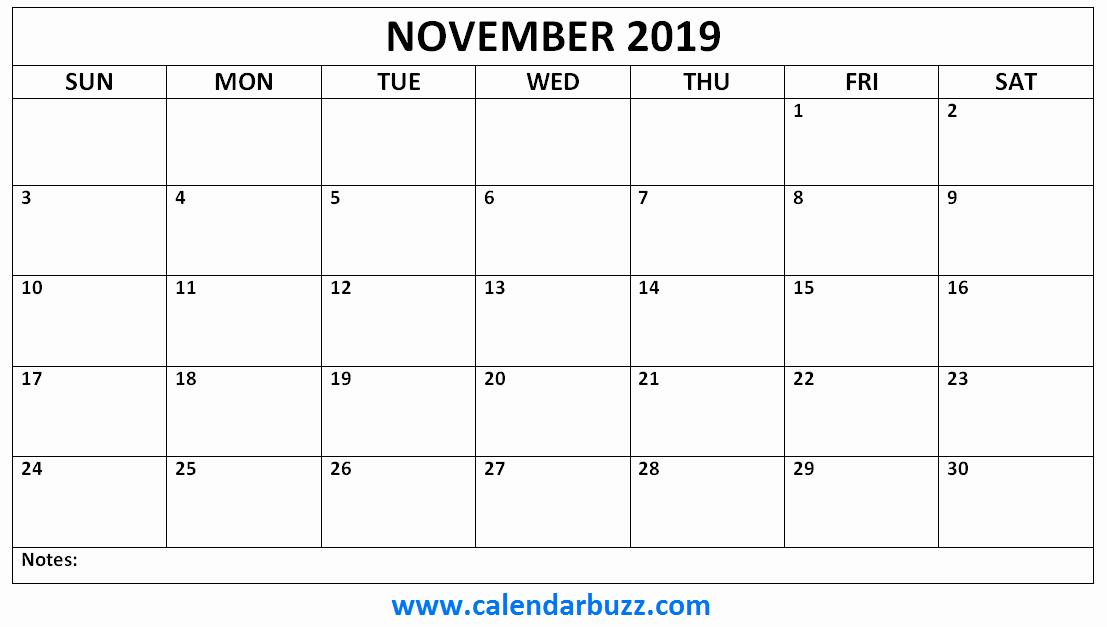 2019 Calendar Template Word Fresh Free 2019 Printable Calendar Monthly Templates