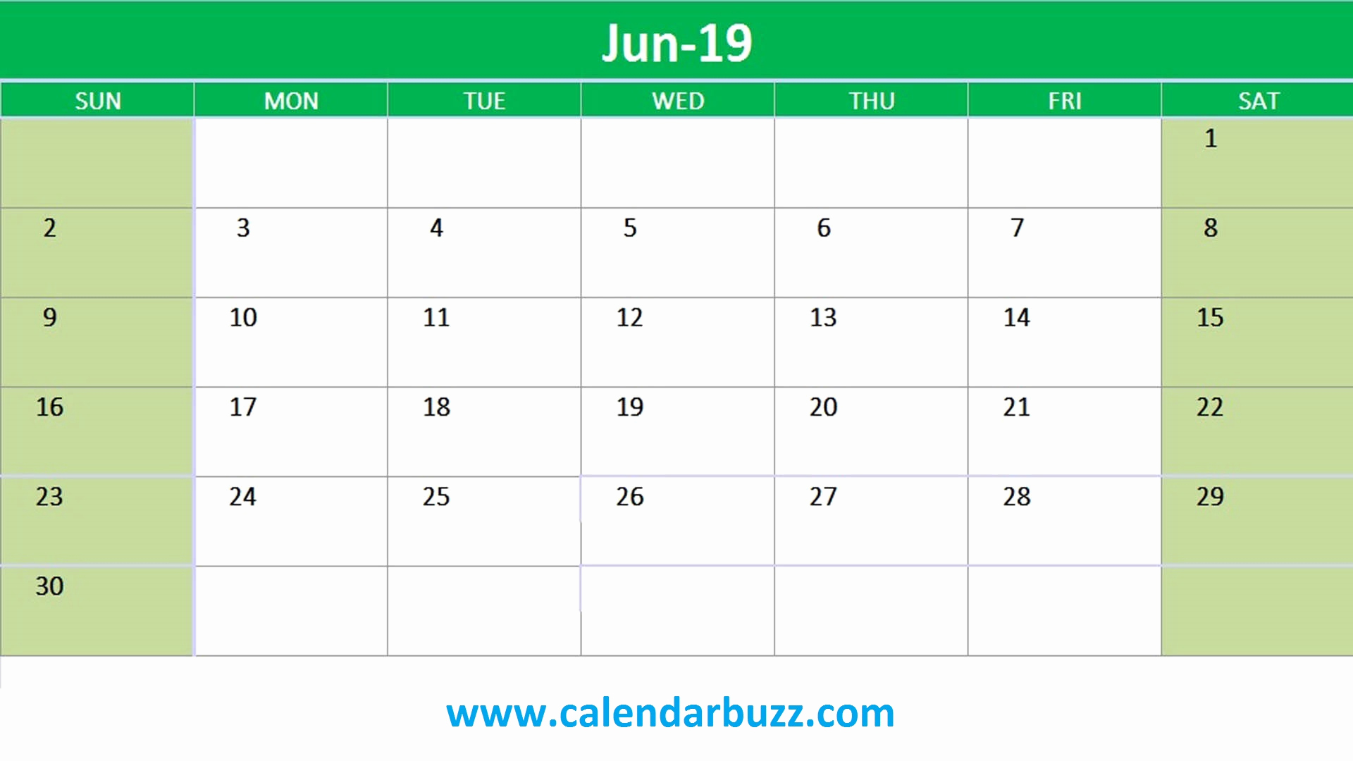 2019 Monthly Calendar Template Awesome Free 2019 Excel Printable Calendar Monthly Templates