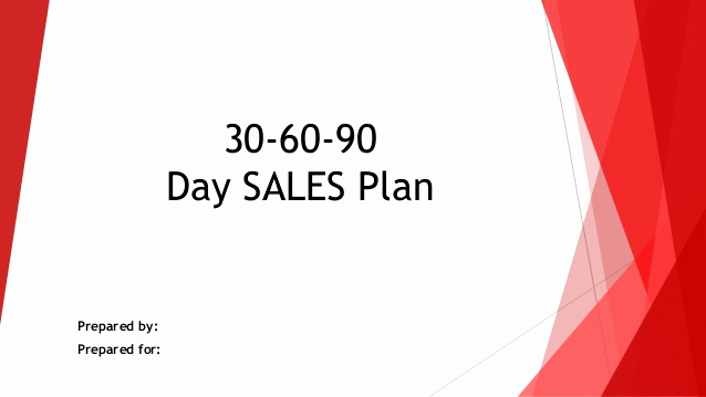 30 60 90 Plan Templates Inspirational 30 60 90 Day Sales Action Plan