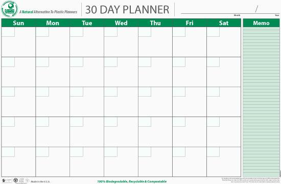 30 Day Calendar Template Beautiful 5 Best Of 30 Day Blank Calendar Printable 30 Day